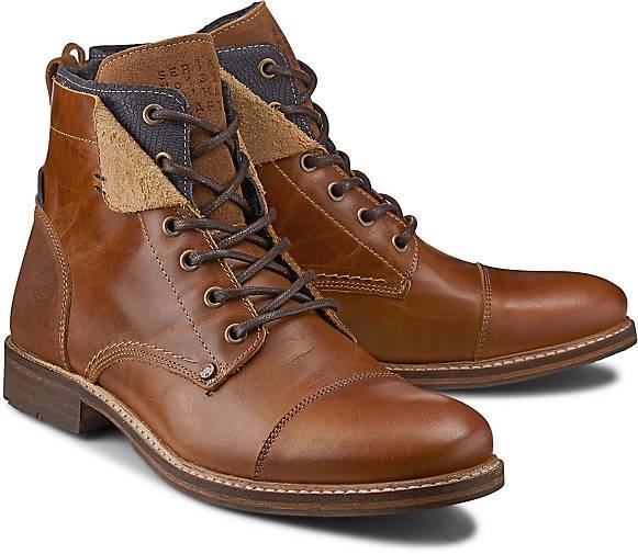 Cox GÖRTZ Schnür-Boots in braun-mittel kaufen - 45487803 | GÖRTZ Cox Gute Qualität beliebte Schuhe 5f52bd