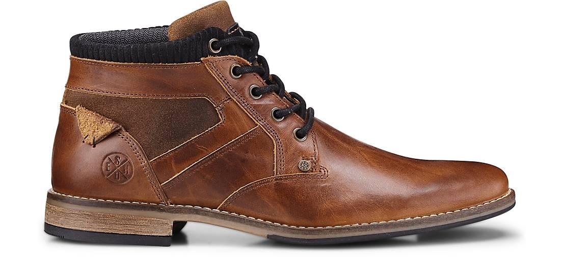 Cox GÖRTZ Schnür-Stiefel in braun-mittel kaufen - 47011203 | GÖRTZ Cox Gute Qualität beliebte Schuhe e90054