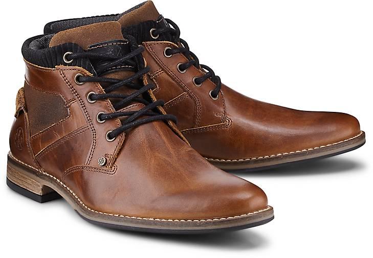 Cox Schnür-Boots in braun-mittel kaufen - 47011203   GÖRTZ 4ab8437998