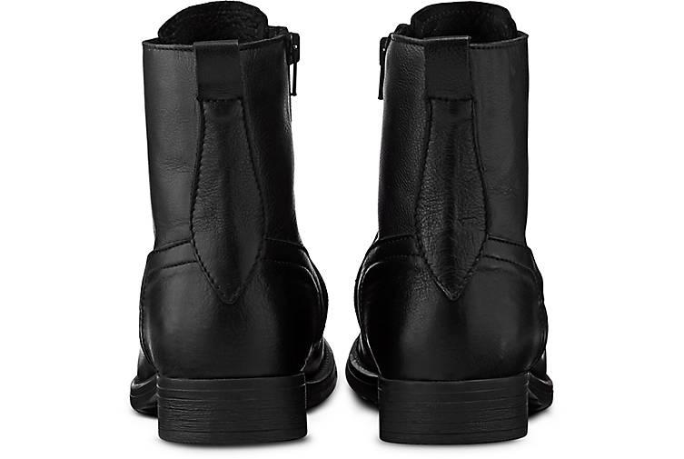 Cox - Schnür-Boots in schwarz kaufen - Cox 47542801 | GÖRTZ 31a6a1