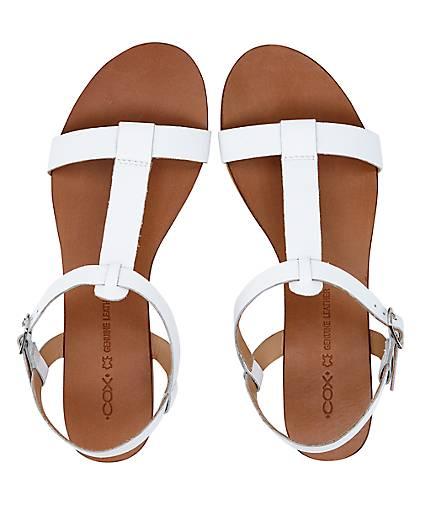 Cox Sommer-Sandale in weiß kaufen GÖRTZ - 47133302 | GÖRTZ kaufen e4809f