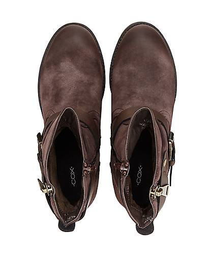Cox Gute Style-Stiefel in braun-dunkel kaufen - 47619101 | GÖRTZ Gute Cox Qualität beliebte Schuhe 786809