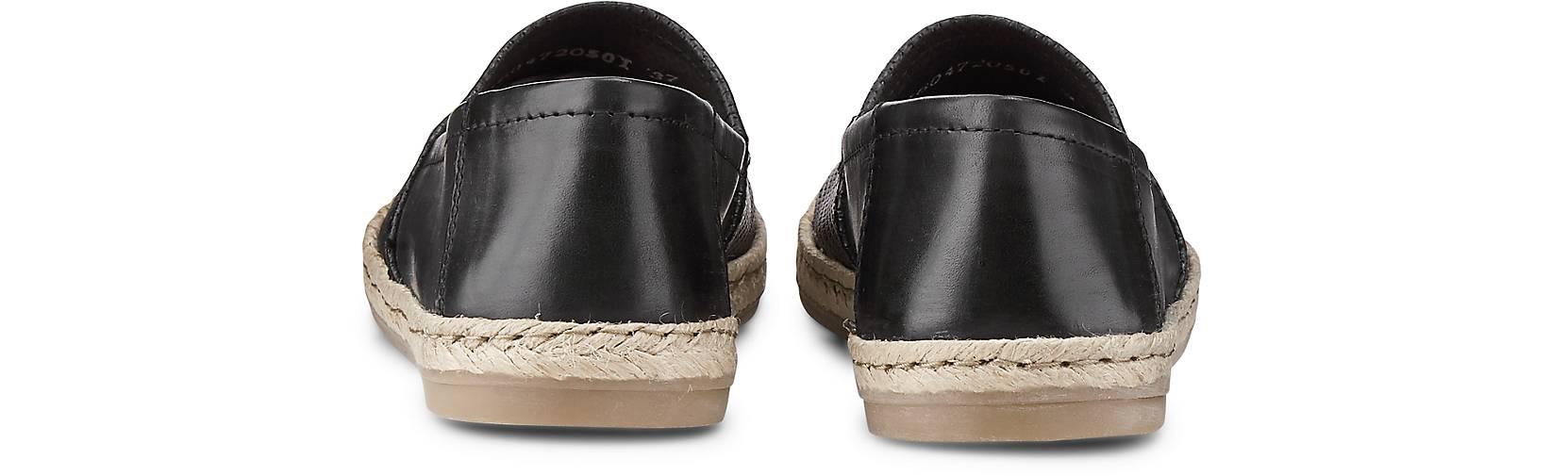 Cox - Trend-Espadrille in schwarz kaufen - Cox 46047205 | GÖRTZ 60dd91