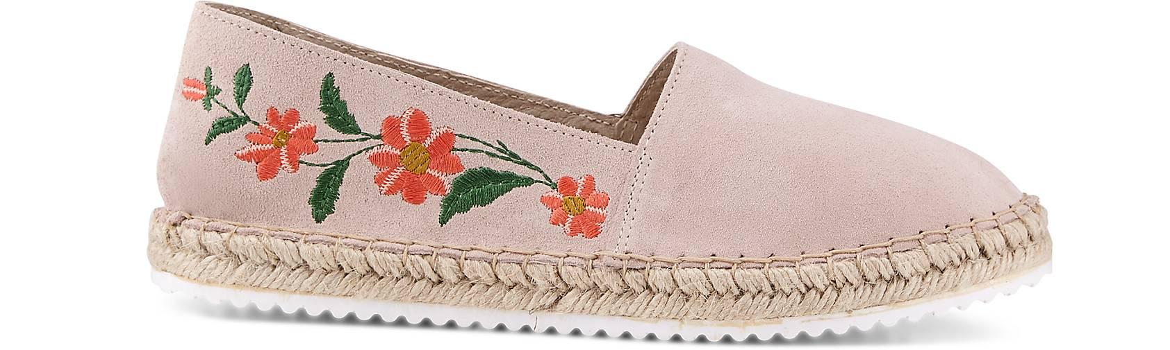 Cox Velours-Espadrille Gute in rosa kaufen - 46891701 | GÖRTZ Gute Velours-Espadrille Qualität beliebte Schuhe aa227b