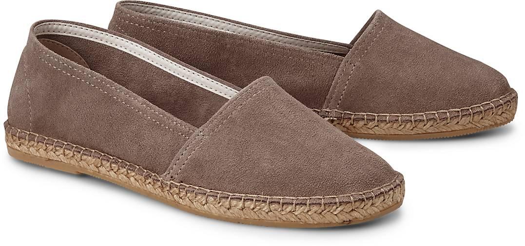 Cox Velours-Espadrille in taupe kaufen kaufen kaufen - 44289904 | GÖRTZ Gute Qualität beliebte Schuhe 756a70