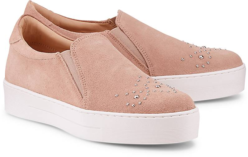 Cox Veloursleder Slip-On