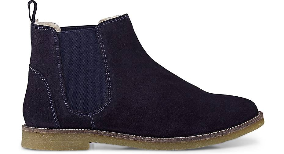 cox winter chelsea boots in blau dunkel kaufen 45541504 g rtz. Black Bedroom Furniture Sets. Home Design Ideas