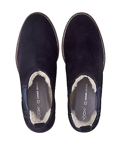 Cox - Winter-Chelsea-Boots in blau-dunkel kaufen - Cox 45541504 | GÖRTZ 50c302