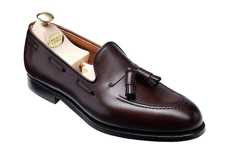 Crockett & Jones Loafer CAVENDISH 2 in braun-dunkel kaufen - 44304301 GÖRTZ Gute Qualität beliebte Schuhe