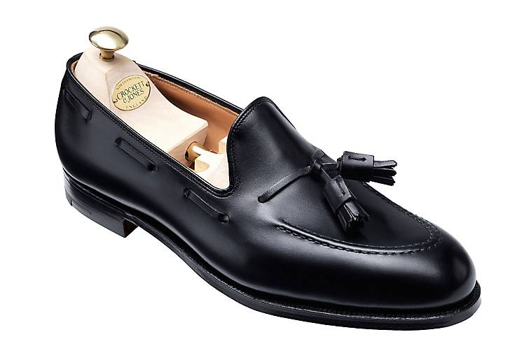 In Schwarz Jones Slipper Loafer Cavendish Crockettamp; Kaufen Klassische QroedxBWCE