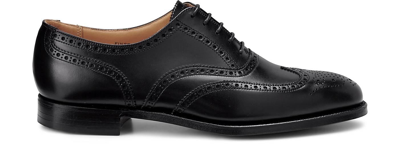 Crockett & Jones Oxford FINSBURY in schwarz Schuhe kaufen - 44307201 GÖRTZ Gute Qualität beliebte Schuhe schwarz ec19f6