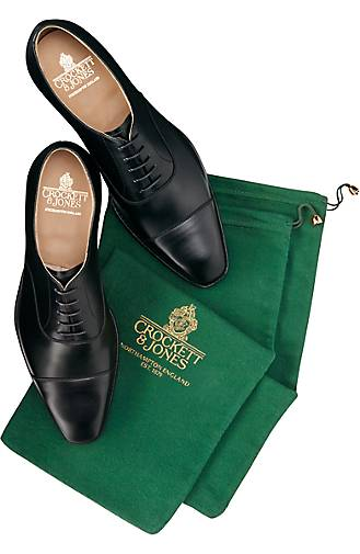 Crockett & Jones Schnürschuh HALLAM in schwarz kaufen - 44309501 Schuhe GÖRTZ Gute Qualität beliebte Schuhe 44309501 c22021