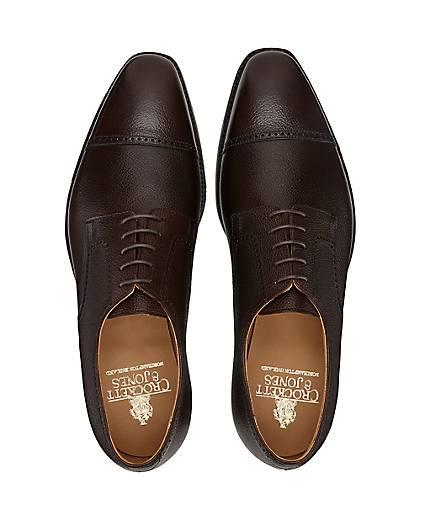 Crockett & braun-dunkel Jones Schnürschuh SALISBURY in braun-dunkel & kaufen - 46925801 | GÖRTZ Gute Qualität beliebte Schuhe 6d313d