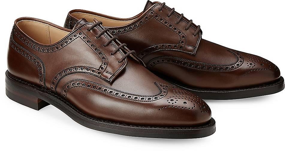 Crockett & Jones Schnürschuh SWANSEA in | braun-dunkel kaufen - 63741402 | in GÖRTZ Gute Qualität beliebte Schuhe c39efc