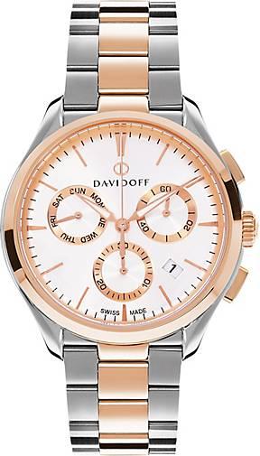 DAVIDOFF Essentials No. 1 Chronograph Edelstahl
