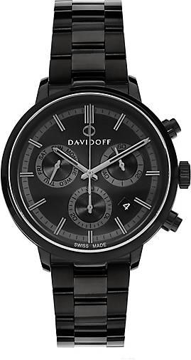 DAVIDOFF Essentials No. 2 Chronograph Edelstahl