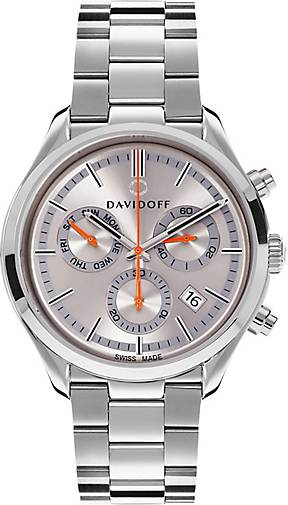 DAVIDOFF Essentials No. 2 Chronograph Edelstahl