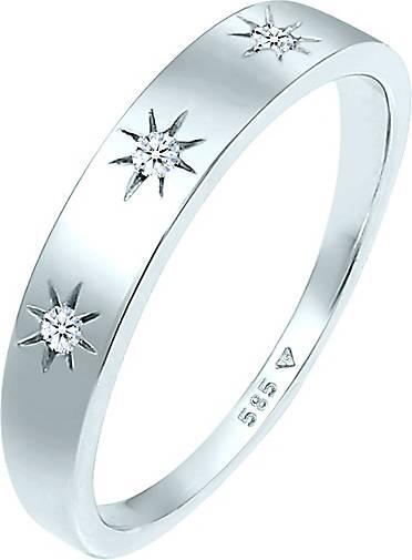 DIAMORE Ring Verlobung Astro Diamant (0.045 ct.) 585 Weißgold