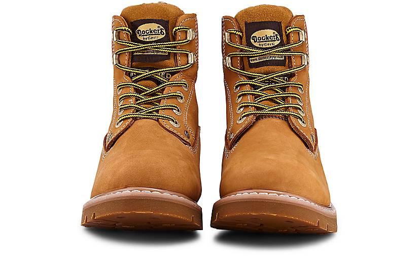 Dockers Schnür-Stiefel in gelb gelb gelb kaufen - 46706802 GÖRTZ Gute Qualität beliebte Schuhe 44d17f