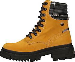 Dockers Schnür Boots gelb   GÖRTZ 46706802
