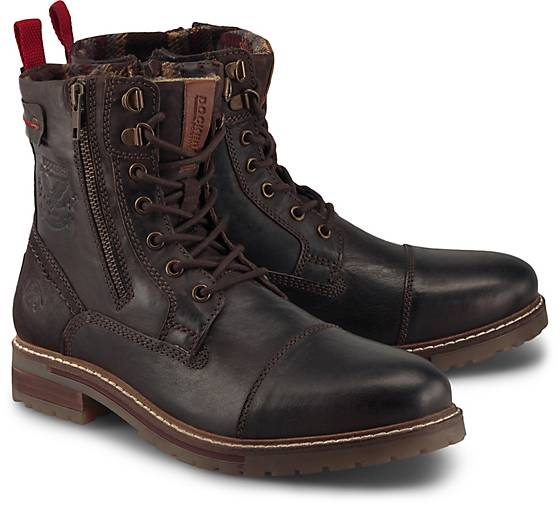 Dockers Winter-Schnürstiefelette