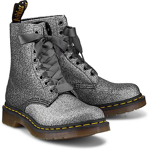 fe866fa597563a Dr. Martens Boots 1460 PASCAL in silber kaufen - 47575301