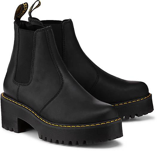 dr martens chelsea boots rometty in schwarz kaufen. Black Bedroom Furniture Sets. Home Design Ideas