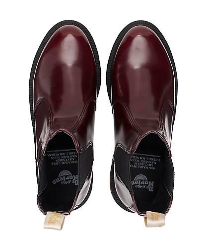 Dr. Martens Chelseas VEGAN - FLORA in bordeaux kaufen - VEGAN 47573001 | GÖRTZ Gute Qualität beliebte Schuhe 40ee61