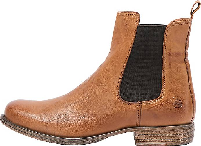 DreiMaster Vintage Weiche Leder Chelsea-Boots