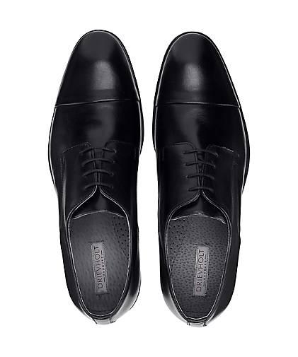 Drievholt Business-Schnürer 47072601 in schwarz kaufen - 47072601 Business-Schnürer GÖRTZ Gute Qualität beliebte Schuhe 03adda