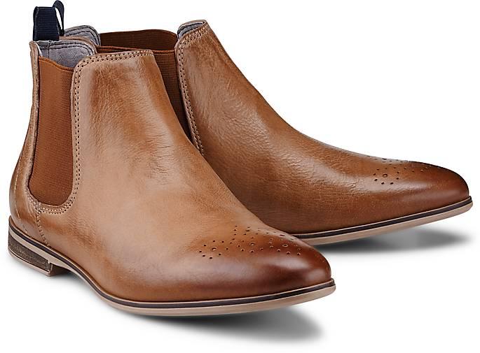 drievholt chelsea stiefelette chelsea boots braun. Black Bedroom Furniture Sets. Home Design Ideas