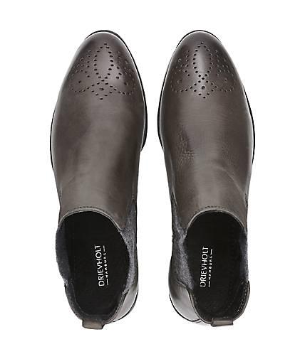 Drievholt Chelsea-Stiefelette in grau-dunkel kaufen kaufen kaufen - 47656701 GÖRTZ Gute Qualität beliebte Schuhe 387eb5