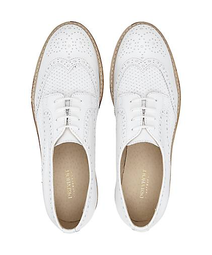 Drievholt Derby-Schnürer Derby-Schnürer Derby-Schnürer in weiß kaufen - 47071801 GÖRTZ Gute Qualität beliebte Schuhe 6e7694