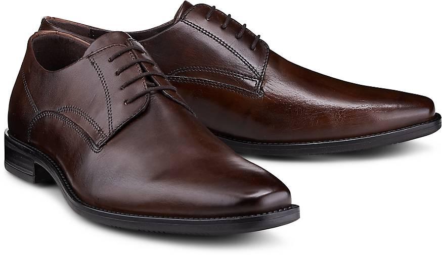 Drievholt Derby-Schnürschuh in braun-dunkel kaufen - 46688502 GÖRTZ Gute Qualität beliebte Schuhe