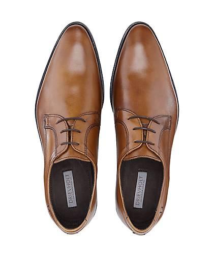 Drievholt GÖRTZ Derby-Schnürschuh in braun-mittel kaufen - 46689202 | GÖRTZ Drievholt Gute Qualität beliebte Schuhe a4e3a7