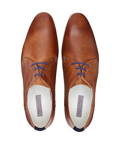 Drievholt Fashion-Schnürer Gute in braun-mittel kaufen - 47072701 | GÖRTZ Gute Fashion-Schnürer Qualität beliebte Schuhe a41821