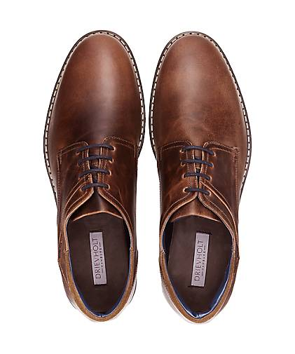 Drievholt Freizeit-Schnürer in in in braun-dunkel kaufen - 47855901 | GÖRTZ Gute Qualität beliebte Schuhe 252f7a