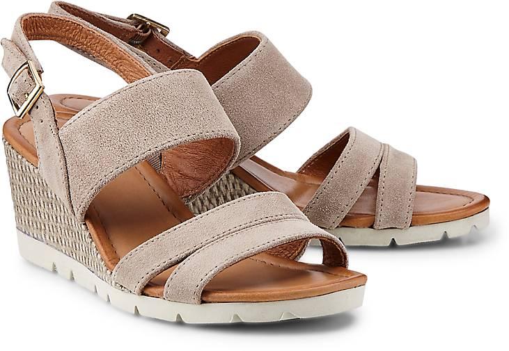 Drievholt Keil-Sandalette in beige kaufen Schuhe - 47022401 GÖRTZ Gute Qualität beliebte Schuhe kaufen 8f0f3a