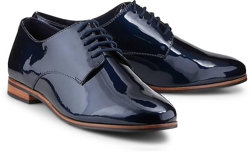b3d35a0e01a29b Drievholt Lack-Schnürschuh in blau-dunkel kaufen - 45080506