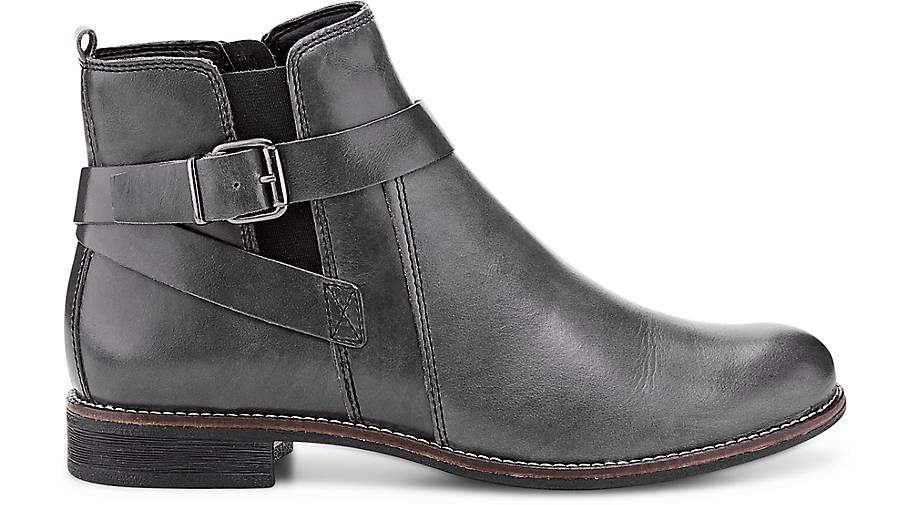 b1472fb2f0a0 ... Drievholt kaufen Leder-Stiefelette in grau-dunkel kaufen Drievholt -  46738501   GÖRTZ Gute ...