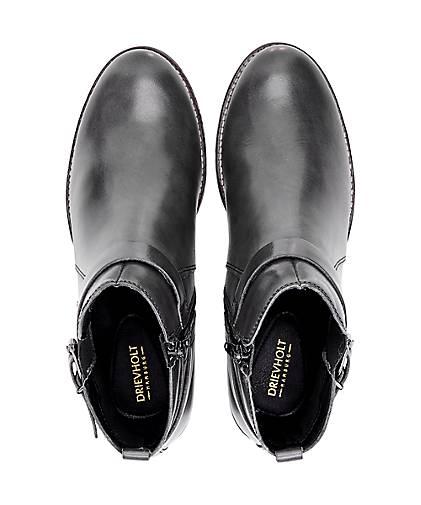 Drievholt kaufen Leder-Stiefelette in grau-dunkel kaufen Drievholt - 46738501   GÖRTZ 2c5be8