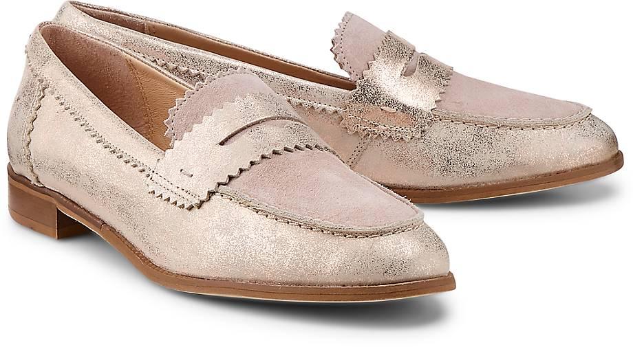 Drievholt Metallic-Loafer