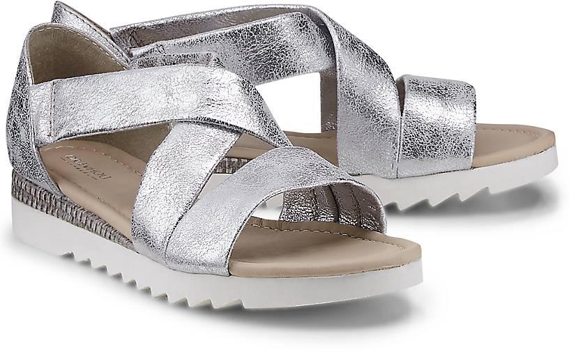 Drievholt Metallic-Sandalette