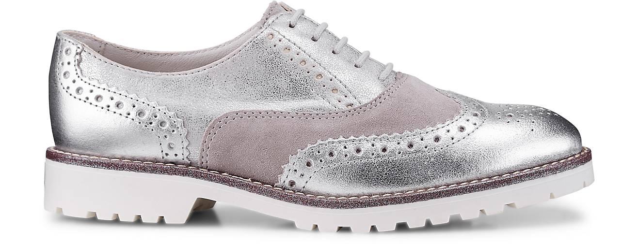 Drievholt Oxford-Schnürschuh in silber kaufen - Qualität 47022901 | GÖRTZ Gute Qualität - beliebte Schuhe f28bce
