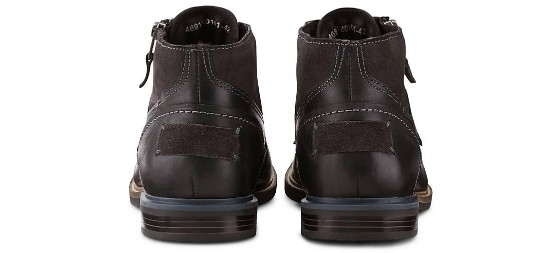 Drievholt Schnür-Boots in schwarz GÖRTZ kaufen - 46919201 | GÖRTZ schwarz Gute Qualität beliebte Schuhe 8870b4