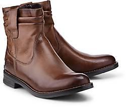 b6a8e26f44a4 Drievholt Leder-Stiefelette in grau-dunkel kaufen - 46738501   GÖRTZ