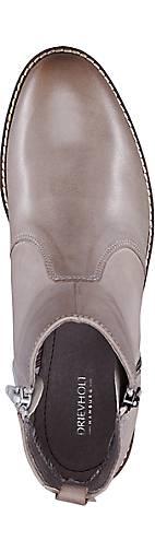 Drievholt Trend-Stiefelette in grau-hell Qualität kaufen - 46048301 GÖRTZ Gute Qualität grau-hell beliebte Schuhe a23426