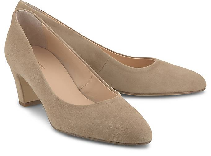 Drievholt Veloursleder-Pumps
