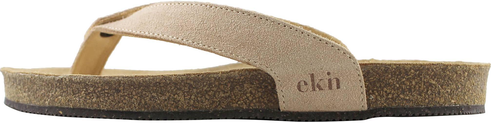 EKN Footwear Zehentrenner Sandal Light Brown Suede