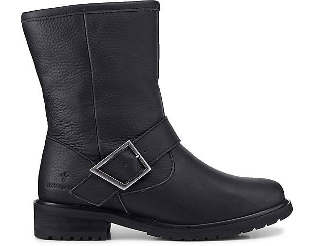 Schwarz Schwarz boots Duke boots Biker Damen Damen Damen Duke Biker qvzCw